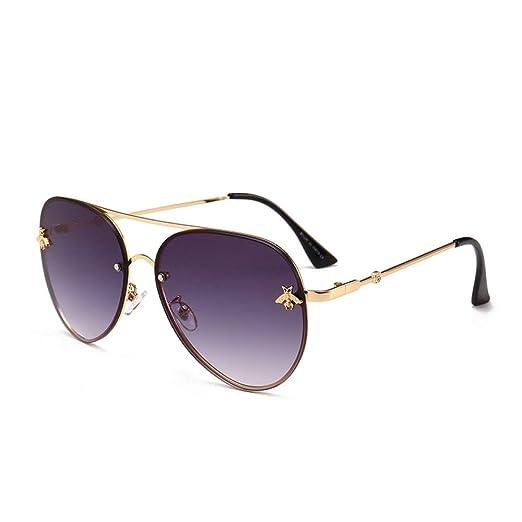 Yangjing-hl Gafas de Sol Personalidad Gafas de Sol de ...