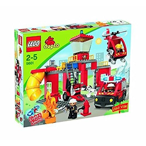 Lego 5601 - DUPLO - Jeux de construction - La caserne des pompiers
