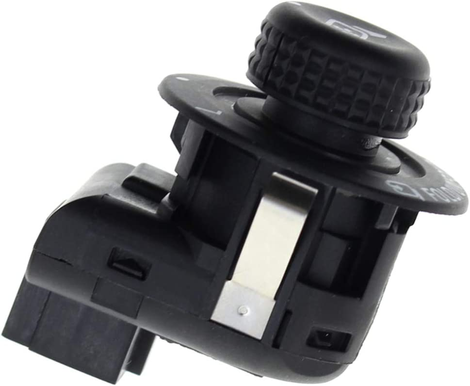 AUTOKAY Front Left Driver Side Power Door Mirror Control Switch Lever Knob for Select Ford Lincoln Models