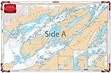 waterproof charts 78 - Waterproof Charts, Standard Navigation, 78 The Thousand Islands
