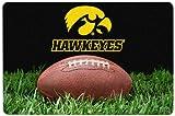 GameWear NCAA Iowa Hawkeyes Classic Football Pet Bowl Mat, Large