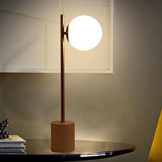 JYKJ Lámparas de Mesa Modernas de Hierro, lámpara de Mesa de ...
