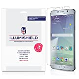 iLLumiShield - Samsung Galaxy Note 5 Screen Protector with Lifetime Replacement Warranty - Ultra Clear HD Film with Anti-Bubble and Anti-Fingerprint - High Quality Invisible LCD Shield - [3-Pack]