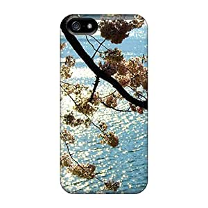 New Style Cases Covers Abh15633hngT Cherry-blossom-47 Compatible With Iphone 5/5s Protection Cases