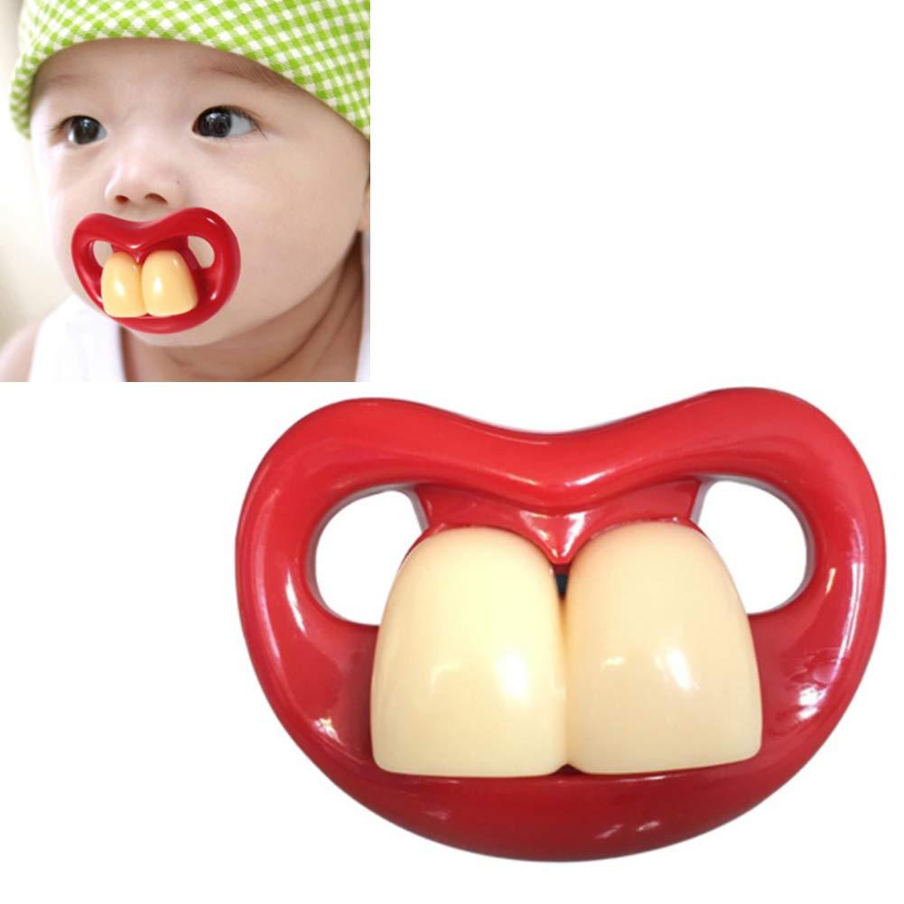 Los dientes de leche divertido Chupete Chupete Chupete ...