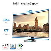 ASUS Designo 31.5-Inch Screen LED-Lit Monitor (MX32VQ) by ASUS Computer International Direct