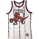 Toronto Raptors Tracy McGrady White Mitchell & Ness Swingman Jersey