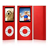 ES Traders New 8GB Red 4Th Generation MP3 Music Media Player Radio Video FM 1.8 (Does Not Support Itunes) RED