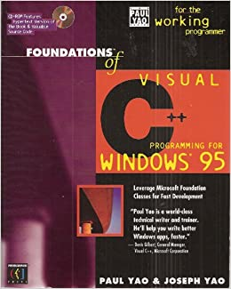 Amazon com: Foundations of Visual C++ Programming for Windows 95