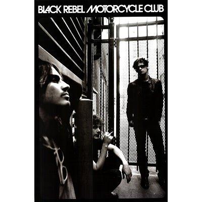 Black Rebel Motorcycle Club Poster Group Shot 24x36-2
