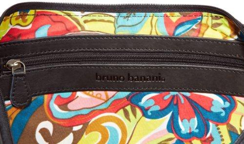 Bruno Banani Bicolour_4 HTL 320_1022, Borsa a spalla donna 50x29x5 cm (L x A x P) Nero (Schwarz)