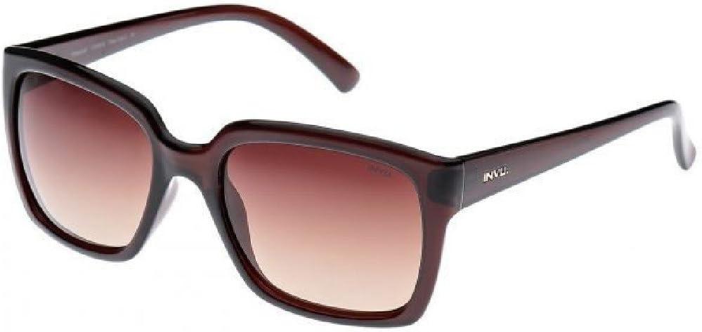 INVU Gafas de Sol polarizadas T 2409 B Marrón Lentes 100% UV Block ...