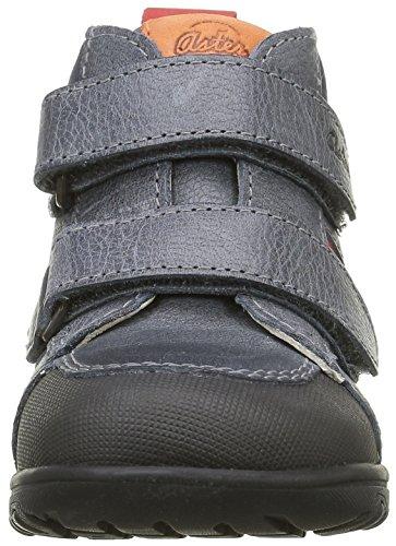 Aster Truck - Zapatos de primeros pasos Bebé-Niñas Azul - Bleu (Marine)