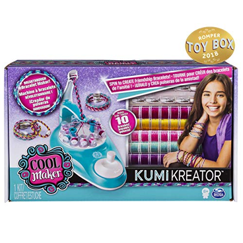Cool Maker KumiKreator Friendship Bracelet Maker, Quick & Easy Activity Kit for Kids Ages 8 and Up ()
