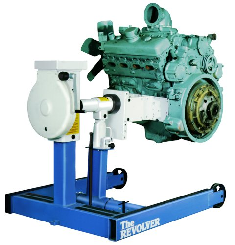Mack Diesel Engine - OTC 1750A 6000 lbs. Revolver Diesel Engine Stand with Universal Adapter