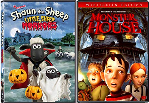 Bump in the Night Monster House + Shaun the Sheep Little Sheep of Horrors Animated Movie Halloween Double Feature Creepy family fun