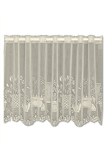 Heritage Lace Ecru Window Garden 60