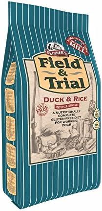 Skinners Field & Trial Alimento completo seco para perros adultos Pato y arroz, 15 kg