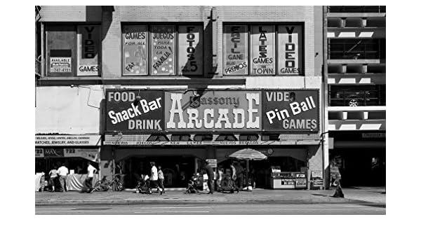 Amazon.com: Vintography 18 x 24 B&W Photo Sassony Arcade Located on Broadway, Los Angeles, California 2012 Highsmith 69a: Home & Kitchen