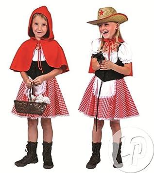 Pierro S Kostum Rotkappchen Kind Kinderkostum Madchenkostum Kleid