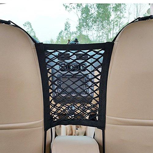 Rete portaoggetti auto tasca sedile posteriore netto detriti tasca centrale corrimano scatola portaoggetti impermeabile china