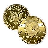 Aizics Mint Donald Trump Coin 2020 24 kt Gold