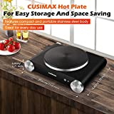 CUSIMAX Portable Hot Plate Burner for Electric