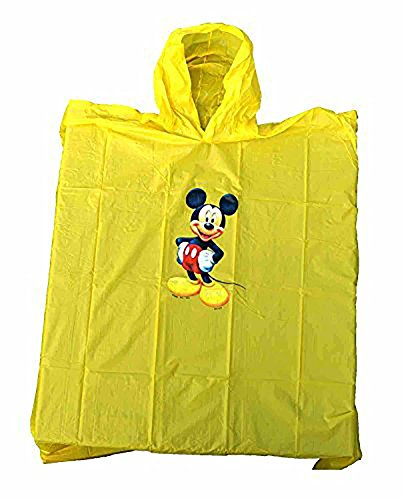 Disney Mickey Mouse Yellow Kids Poncho - Yellow Kids Poncho