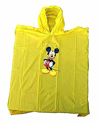 Disney Mickey Mouse Yellow Kids Poncho - Yellow Kids Poncho