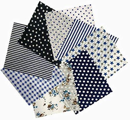 Henmoss 花柄 パッチワーク50×50cm 8枚1組 綿 布 生地 北欧 カットクロス 手づくりマスク家庭用 可愛い 布セット