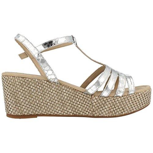 Sandales, color Argent , marca UNISA, modelo Sandales UNISA KUSONO SNM Argent