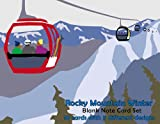 Rocky Mountain Winter Blank Note Card Set