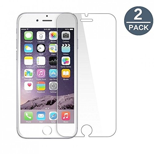 2 Pack I Phone 6 , 6s Bulletproof Screen Saver