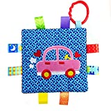 Edtoy Baby Plush Towel Toy Stroller Bed Car Seat Hanging Toys