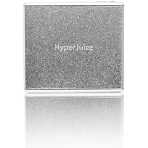HyperJuice External Battery 60Wh for iPad/iPad 2 and MacBooks - Silver - MBP60 (Hyperjuice External Battery compare prices)