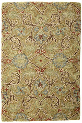 Kaleen Rugs Helena Collection 3200-05 Gold Hand Tufted 2' x 3' Rug