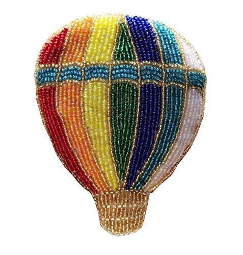 Handmade Beaded Creative Colorful Balloons Coin Purse