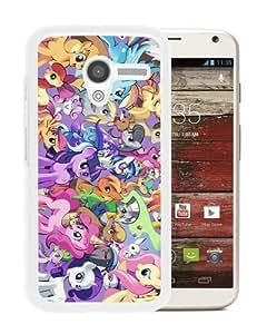 Popular Sale Motorola Moto X,My Little Pony Cutie Marks Unicorn Family Crew Pink Sweet White Unique Custom Motorola Moto X Phone Case