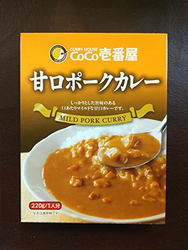 CoCo Ichibanya Curry House, mild pork curry (pack of four)