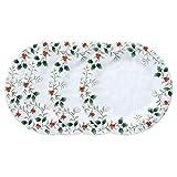 Pfaltzgraff Winterberry Melamine Dinner Plate (10-1/2-Inch, Set of 4)