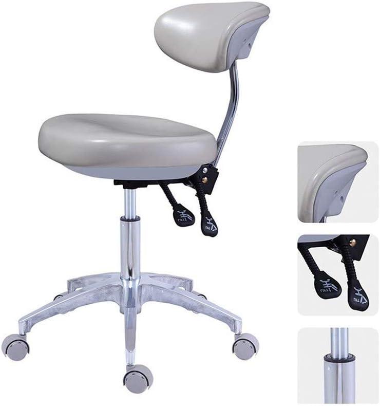 SXBAR STOOLS Silla giratoria Dental Silla giratoria Asiento de médico Oral para Dentista, salón de consultorio médico y Uso en consultorio,Color2