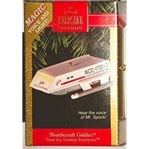 Shuttlecraft Galileo - 1992 Hallmark Keepsake Ornament