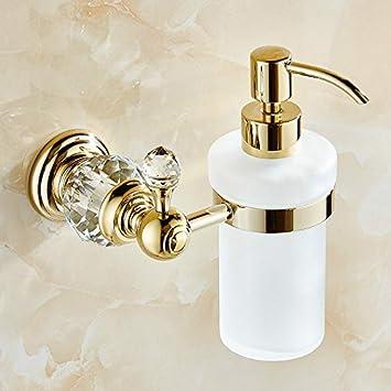 KIEYY Massiv Messing Kristall accessoires badezimmer Set Polish ...