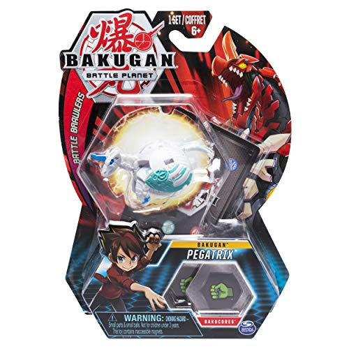 Bakugan Pack Character - Bakugan, Pegatrix, 2-inch Tall Collectible Transforming Creature, for Ages 6 and Up