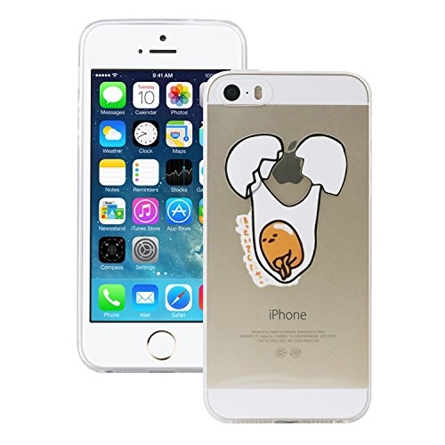 iProtect Housse de protection en silicone Soft Case - Housse Gel Lazy Egg balançoire - Apple iPhone 5 / 5s