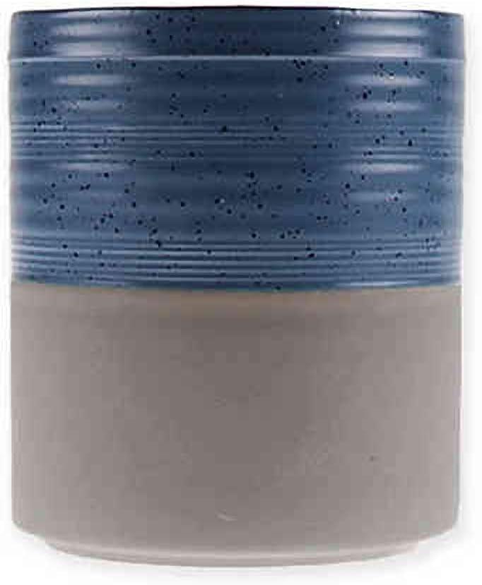 Bee /& Willow Home Stoneware Utensil Holder in Blue
