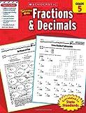 (进口原版)  Scholastic Success with Fractions & Decimals, Grade 5