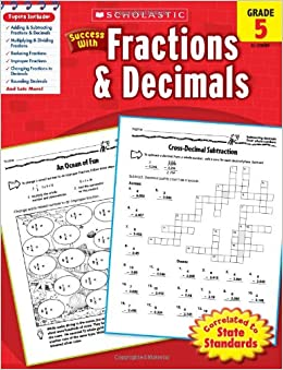 Adios Tristeza Libro Descargar Scholastic Success With Fractions & Decimals, Grade 5 De PDF A Epub