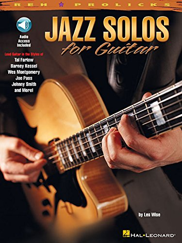 Reh Jazz Solos For Guitar  Book And CD   Noten CD Für Gitarre  REH Pro Licks