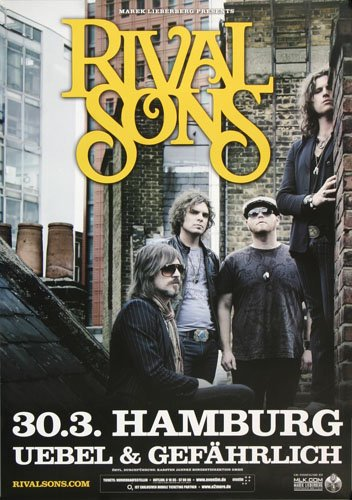 rival sons poster - 4